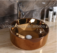YJ698 2017 new design rose round Art basin