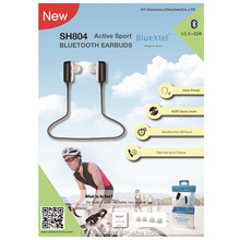 China cheap sport earpiece OEM & ODM Wireless Blutooth Bluetooth V3.0 Stereo Sport Earbuds