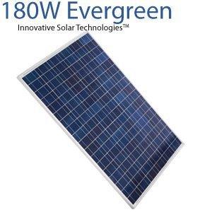 180 Watt Evergreen Solar Panel Buy Solar Panel Product