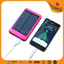 2017 Hot selling solar power pack, solar powerbank, phone battery waterproof bank