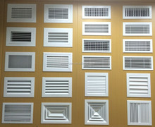 Aluminum Air Grille / Air diffuser with White Spray Painting
