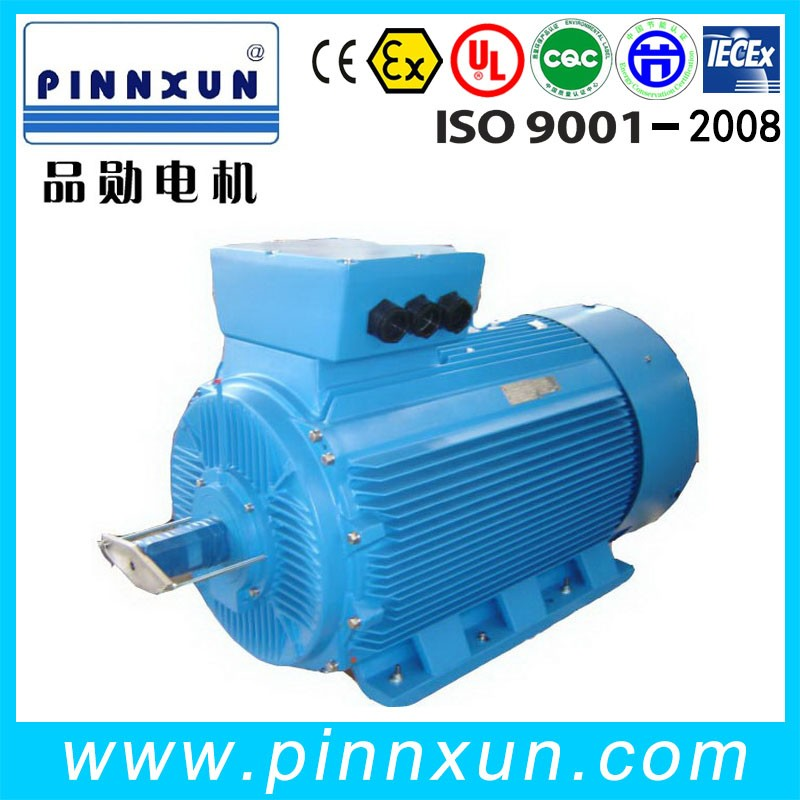 Updated YS 100kw permanent magnet motor
