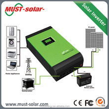 Pure Sine Wave Off Grid DC to AC Solar Power 5kva Air Conditioner Inverter with 60A MPPT Charger