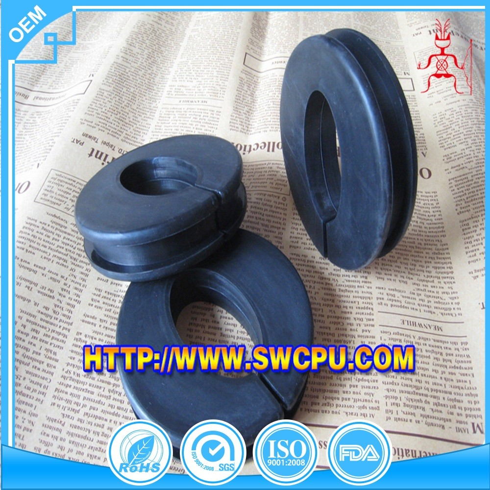 Oval curtain 1/2 rubber grommet for hole sealing wholesale