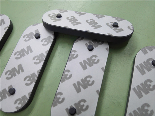 "Huangshi factory 1/2"" 3/8 inch 18x10 mm 3m adhesive bumpon rubber feet silicone non slip foot pad felt sticker anti slip pad"