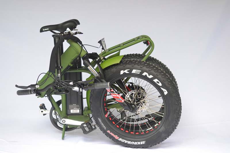 fat electric folding bicycle