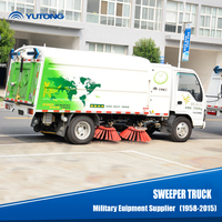 electric cleaning sweeper truck/vacuum floor machine