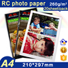 Jetland A4 RC Inkjet paper 260G Glossy Photo Paper 210x 297mm 20 sheets per pack with waterproof colorful bag