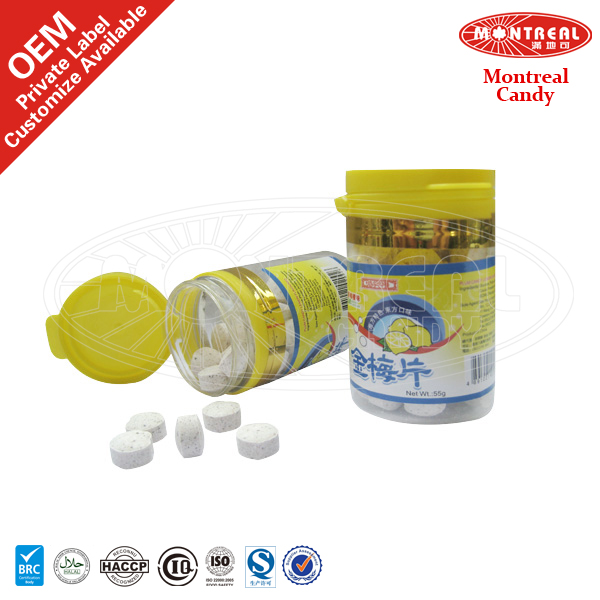 Tasty lemon sweet candy wholesalers tablet candy press