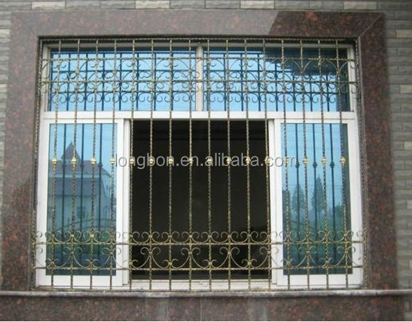Top-selling wrought iron window bar