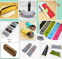 high quality wool felt pencil bag /case