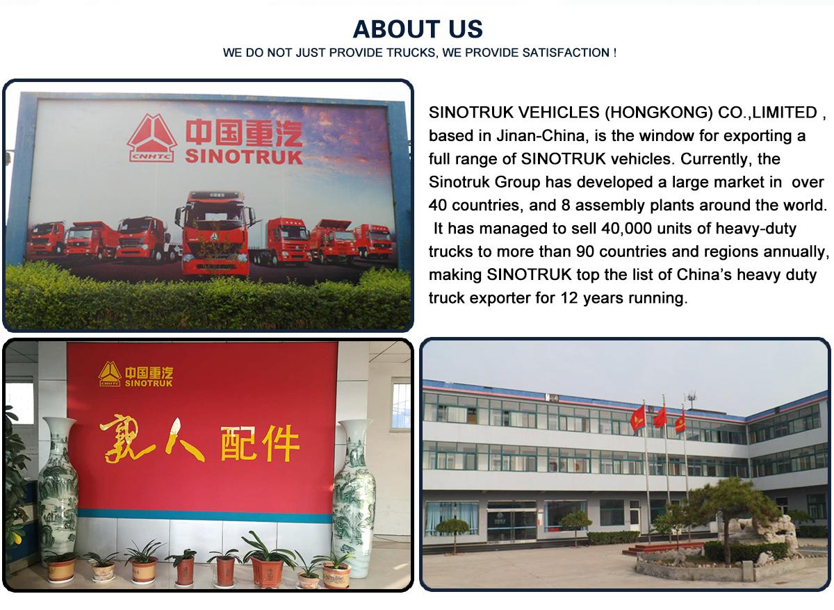 Jinan Huawo Heavy Duty Truck Trade Co., Ltd. - dump truck, tractor truck