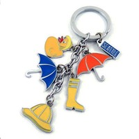 keyring 2015 new design custom metal promotional gift keychain