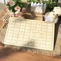Custom Wedding guest book Personalized Puzzle Guestbook