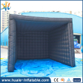 3x3.5x4m inflatable trade show tent inflatable black tent inflatable tent for events