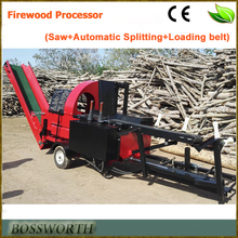 2016 new tech Firewood Processor with Saw and Splitting