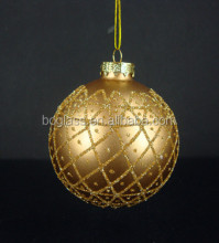 2014 New Christmas Decoration Supplies,Glass Decorative Christmas glass Ball
