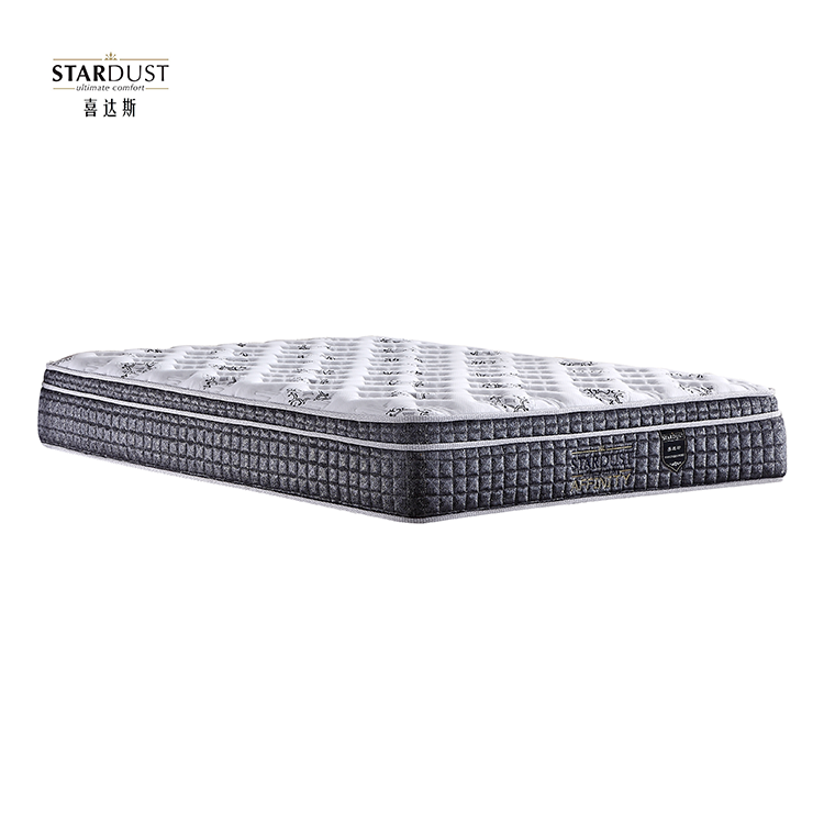 China Factory Super 5 Stars Hotel Mattress King Size Pillow Top (Affinity)
