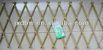Simple Fence Natural Bamboo Lattice Fence Designs