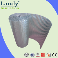 SILVER ALUMINIUM FOIL AIR BUBBLE CELL INSULATION
