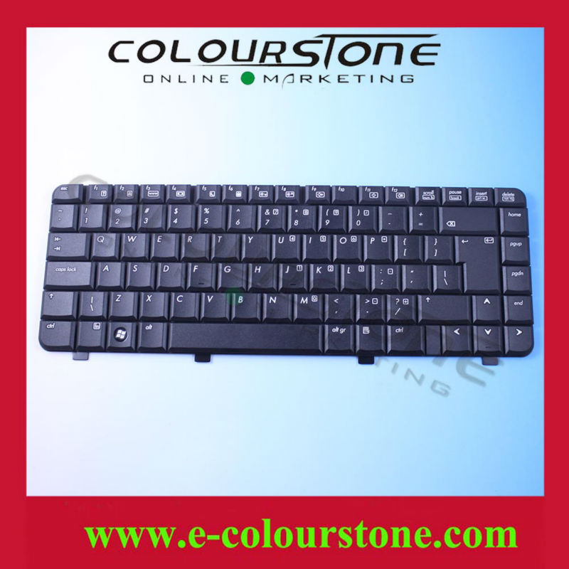 Laptop Keyboard For HP Compaq 510 Keyboard US Layout Black 9J.N8682.CIS