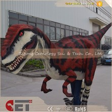 CET-H531 High Simulation Handmade Painting Robotic Dinosaur Suit made in china