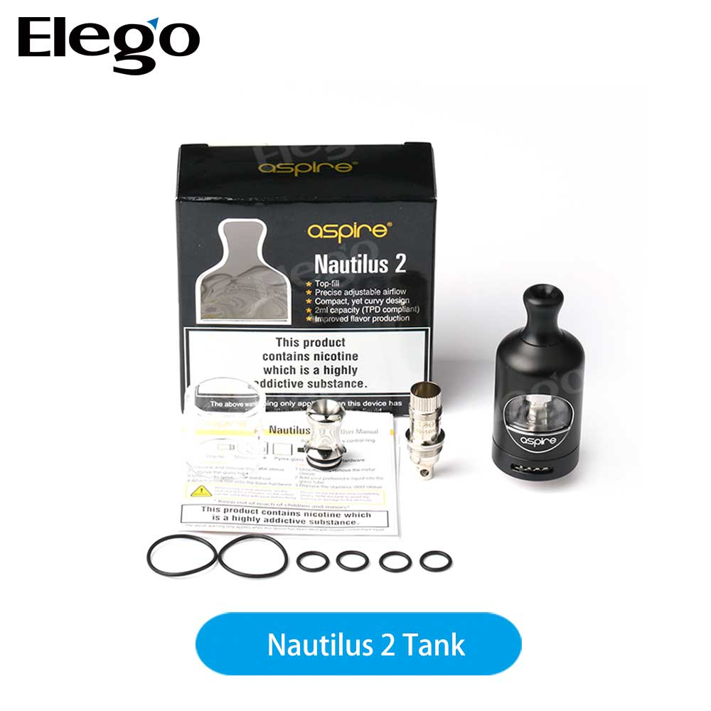 Brand New Product Original Aspire Nautilus 2 Tank / Zelos 50W / Nautilus coil 0.7ohm from Elego Wholesale