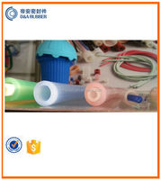 varied colored extruded silicone tube and silicone hose