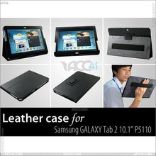 Belt Clip Design With Hand Holder Leather Case Cover for Samsung P5100/P5110 Galaxy Tab 10.1 Case SAMP5100CASE005