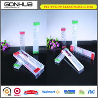 Wholesale rectangle folding custom made home appliance knife plastic package box