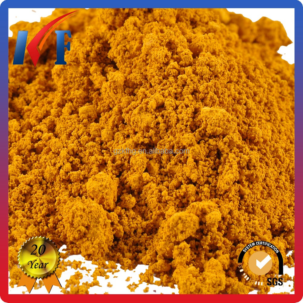 25Kg/Bag Iron Oxide Yellow Pigment for ceramic tile