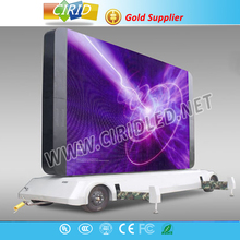 full color led display P10 outdoor mobile trailer LED display sign programmable led display