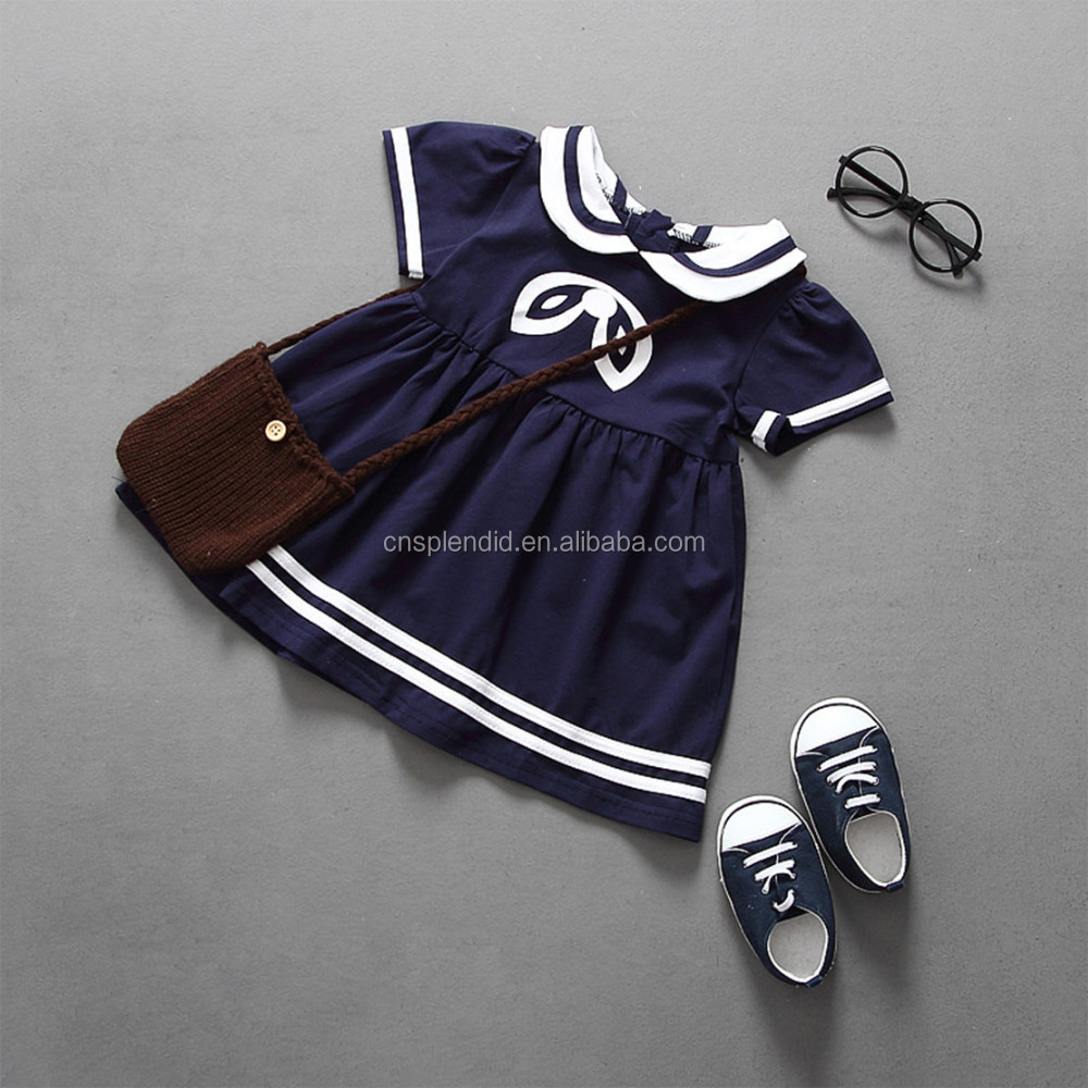 High quality fashion kindergarten kids uniform for school