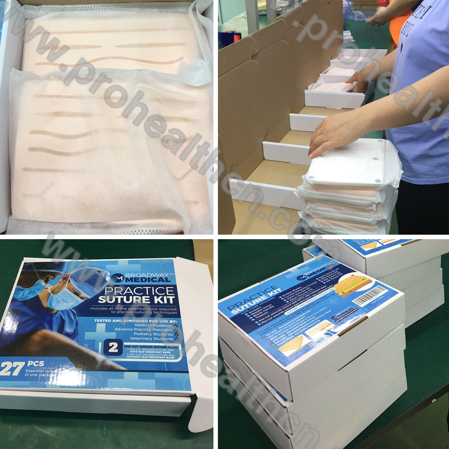Durable Mesh Protective Mini Suture Practice Pad For Suture Training Course