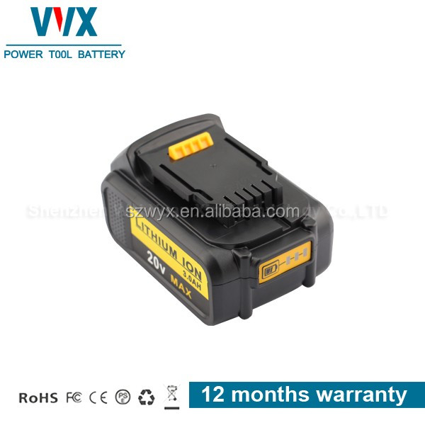 High quality 20V 4.0mAh Li Power Tool Battery Rechargeable for Dewalt Replacement DCF895C2