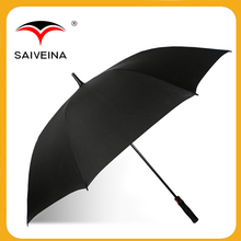 hot sale 23''8k low-key luxury golf fiberglass umbrella with EVA handle by China supplier