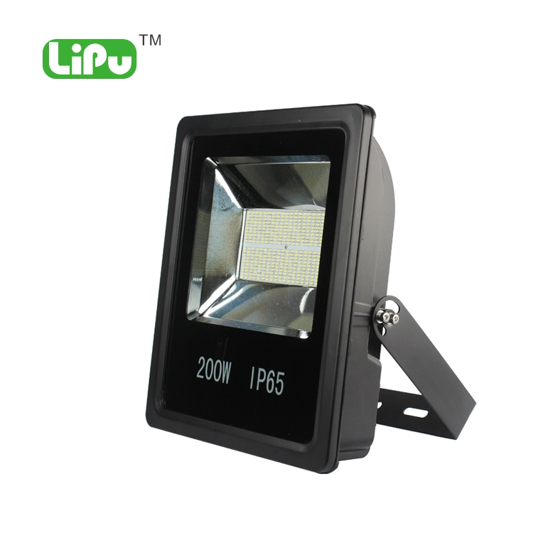 Aluminum fixture IP65 ourdoor led flood light 200w