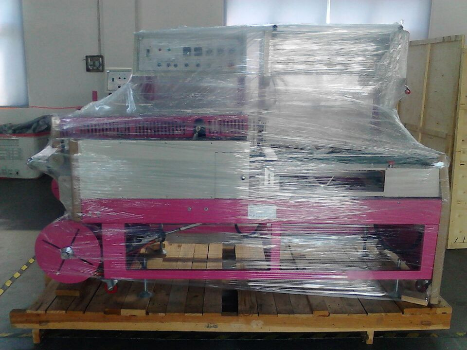 CCP seal shrink bag airport pe film shrinking packing machine