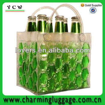 liquid pvc wine bag/clear pvc wine bag