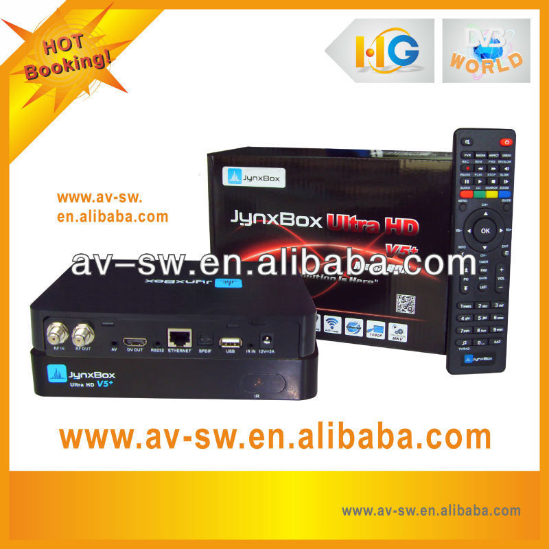 jynx box ultra hd v5+ digital satellite receiver for north america decode Nargra3