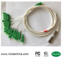 Fiber Optical 1* 16 900um Blockless PLC Splitter SC/APC