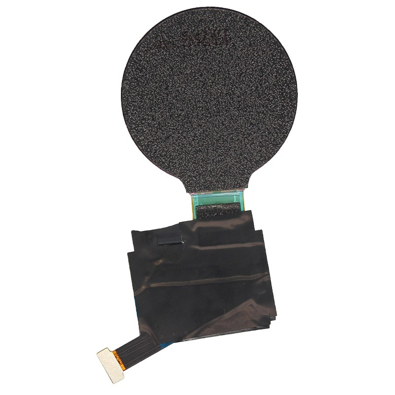 round shape white oled display UNLCD21725