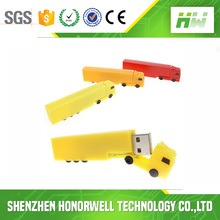 OEM Track Design High Quality Customized Logo Print USB Flash Drive Gift for Truck Company