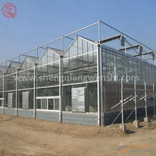 China professional farming equipment PC sheet garden greenhouse aluminum profile