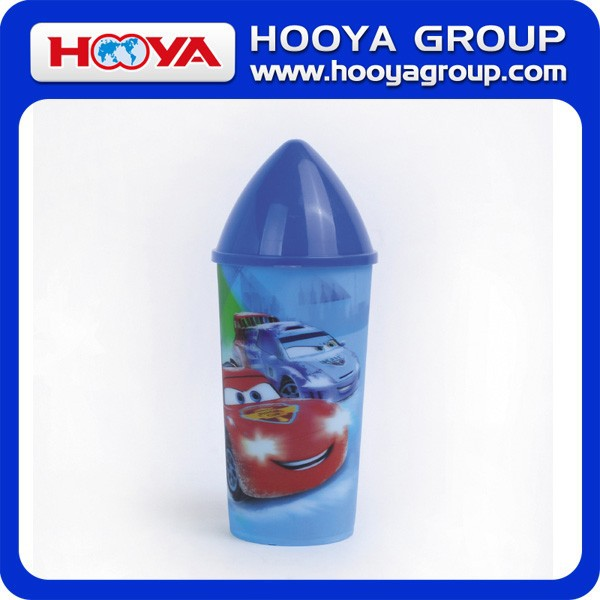 3D PP Plastic Cup/450ml Children' s Bottle