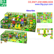 beautiful indoor tunnel playground for sale, big size indoor playground design for sale