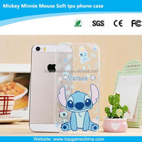 0.3 mm ultra-thin tpu protect cover case for iphone 5 phone case