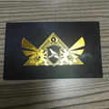 Custom High Quality Luxury Gold/Silk Stamping Embossing Business Card With Gold Edge And Foil Logo