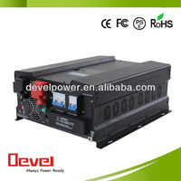 off grid solar inverter 3kw with battery charger for car