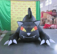 Inflatable Halloween Black Cat for Holloween Holiday